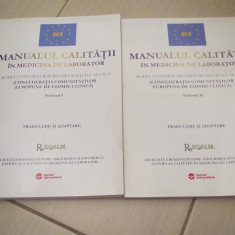 MANUALUL CALITATII IN MEDICINA DE LABORATOR  VOL,1,2