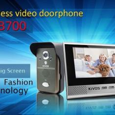 Videointerfon wireless KDB700 cu detectie miscare si vedere pe timp de noapte