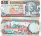 Barbados 50 Dollars 01.05.2007  UNC