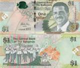 Bahamas 1 Dollars 2008 UNC