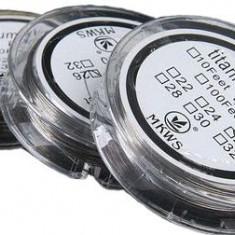 Titanium Wire sarma rezistente 0.4mm - 10 metri