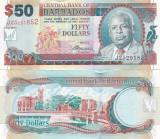 Barbados 50 Dollars 01.05.2007 Sig. Dr. DeLisle Worrell UNC