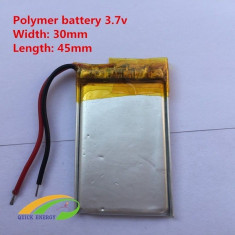 601235 - Acumulator Li-Polymer - 3,7 V - 280mah