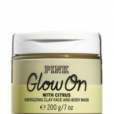 Masca De Fata Si Corp, Glow On, PINK Victoria's Secret, 200 g