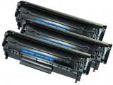 Set 3 HP Q2612A,Toner Compatibil HP LaserJet 1022,1022 N,1022,Laserjet 3000,3015