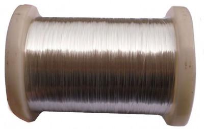 Sârm? de argint 99,999% de 0.25mm - 1 metru foto