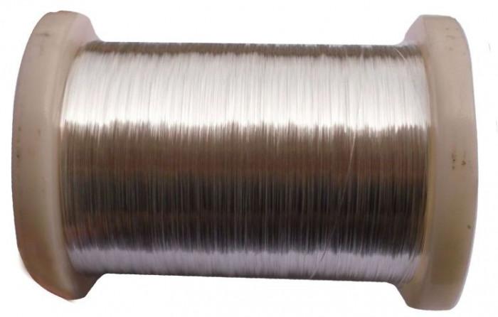 Sârm? de argint 99,999% de 0.25mm - 1 metru