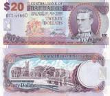 Barbados 20 Dollars 02.05.2012 Sig. Dr. DeLisle Worrell  UNC