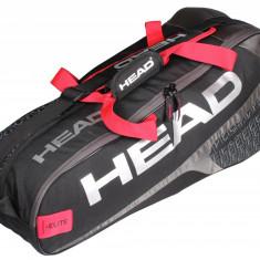 Elite 6R Combi 2018 geanta rachete negru - Geanta tenis Head