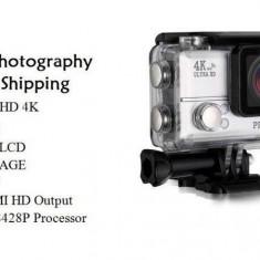 Camera foto/video 4K Wifi 24FPS pentru drumetii, scufundari, sport extrem OFERTA