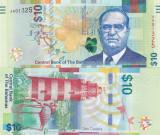 Bahamas 10 Dollars 2016 UNC