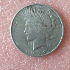 Moneda argint ONE DOLLAR 1922, America de Nord