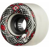Set 4 roti Longboard Powell Peralta Snakes 69mm white