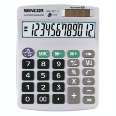 Calculator de birou Sencor SEC 367/12 Grey