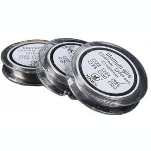 Titanium Wire sarma rezistente 0.32mm - 10 metri