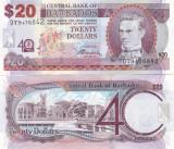Barbados 20 Dollars 02.05.2012 Sig. Dr. DeLisle Worrell Comemorativa UNC