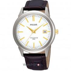Ceas Pulsar DRESS MEN PXHA21X1 Classic Titan - Ceas barbatesc