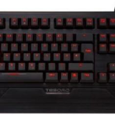 Tastatura Gaming Tesoro Durandal Ultimate G1NL Mecanica, Cherry MX RED (Negru) - Tastatura PC