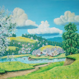 Satul inflorit, Natura, Ulei, Altul