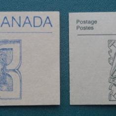 CANADA – PARLAMENTUL, carnete filatelice, TR17
