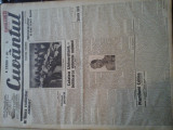 Ziare vechi - Cuvantul - Nr. 2838, 19 mar 1933, 8 pag, Nae Ionescu, G. Racoveanu