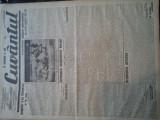 Ziare vechi - Cuvantul - Nr. 2835, 16 mar 1933, 8 pag, Nae Ionescu, M. Sebastian, Nae Ionescu