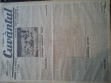 Ziare vechi - Cuvantul - Nr. 2835, 16 mar 1933, 8 pag, Nae Ionescu, M. Sebastian