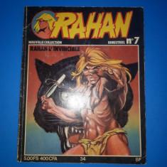 RAHAN Nr 7 - an 1979 - Reviste benzi desenate