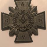 Probă însemn masonic Loja Noua Românie