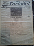 Ziare vechi - Cuvantul - Nr. 2813, 22 feb 1933, 8 pag, Racoveanu, I. Calugaru