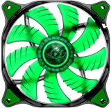 Ventilator Cougar Dual-X CFD series, 120mm (LED Verde)