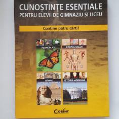 Enciclopedie Cunostinte esentiale pentru elevii de gimnaziu si liceu, Ed. Corint