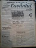 Ziare vechi - Cuvantul - Nr. 2777, 17 ian 1933, 4 pag, Editie Speciala