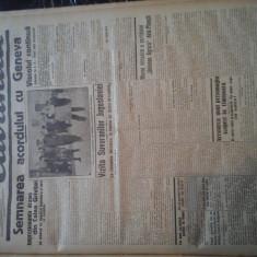 Ziare vechi - Cuvantul - Nr. 2786, 26 ian 1933, Editie Speciala, Acord Geneva