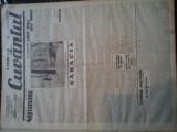 Ziare vechi - Cuvantul - Nr. 2783, 23 ian 1933, 8 p, Onicescu, Perpessicius