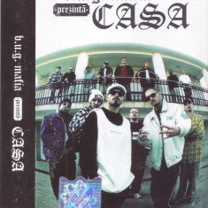 Caseta audio: B.U.G. Mafia – Prezintă: Casa ( 2002 - originala, stare f.buna ) - Muzica Hip Hop, Casete audio