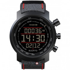 Ceas Suunto ELEMENTUM TERRA BLACK AND RED LEATHER - Ceas barbatesc