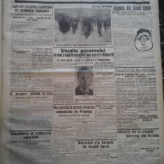 Ziare vechi - Cuvantul - Nr. 2805, 14 feb 1933, 4 pag, Editie Speciala