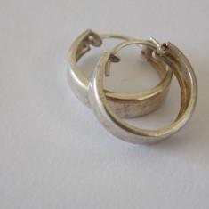 Cercei argint vintage -4196 - Bijuterie veche