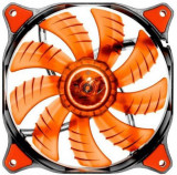Ventilator Cougar Dual-X CFD series, 140mm (LED Rosu)