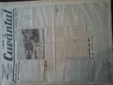 Ziare vechi - Cuvantul - Nr. 2828, 9 mar 1933, 8 pag, Nae Ionescu, O. Onicescu, Nae Ionescu