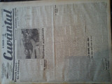 Ziare vechi - Cuvantul - Nr. 2828, 9 mar 1933, 8 pag, Nae Ionescu, O. Onicescu