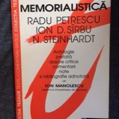 Literatura Memorialistica - Radu Petrescu-16