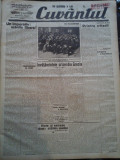 Ziare vechi - Cuvantul - Nr. 2830, 11 mar 1933, 10 p., Nae Ionescu, M. Sebastian
