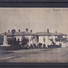 OLTENIA VALCEA OCNELE MARI PRIMARIA CIRCULATA - Carte Postala Oltenia dupa 1918, Printata
