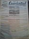 Ziare vechi - Cuvantul - Nr. 2807, 16 feb 1933, 8 pag, Nae Ionescu, M. Sebastian