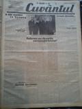 Ziare vechi - Cuvantul - Nr. 2837, 18 mar 1933, 8 pag, Nae Ionescu, M. Eliade, Nae Ionescu
