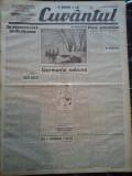 Ziare vechi - Cuvantul - Nr. 2822, 3 mar 1933, 8 pag, Perpessicius, M. Sebastian