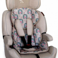 Scaun auto copii Lorelli Navigator, 9-36kg, Beige Hedgehog 2018 (Bej)