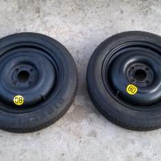 "ROATA DE REZERVA FORD  4*108  15""  Pirelli Continental T125/80 R15  FOCUS FIESTA"